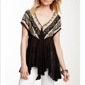 Free People v neck tunic